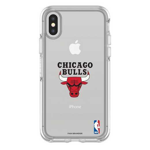 IPH-X-CL-SYM-CHBL-D101: BL Chicago Bulls OtterBox iPhone X/Xs Symmetry
