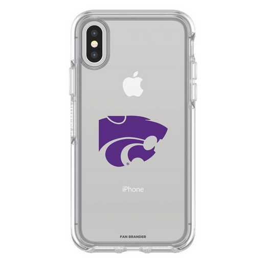 IPH-X-CL-SYM-KST-D101: FB OB iPhone X and XS Kansas State
