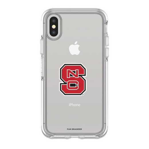 IPH-X-CL-SYM-NCS-D101: FB OB iPhone X and XS North Carolina State