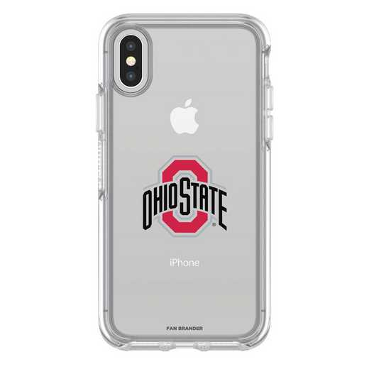 IPH-X-CL-SYM-OHS-D101: FB OB iPhone X and XS Ohio State