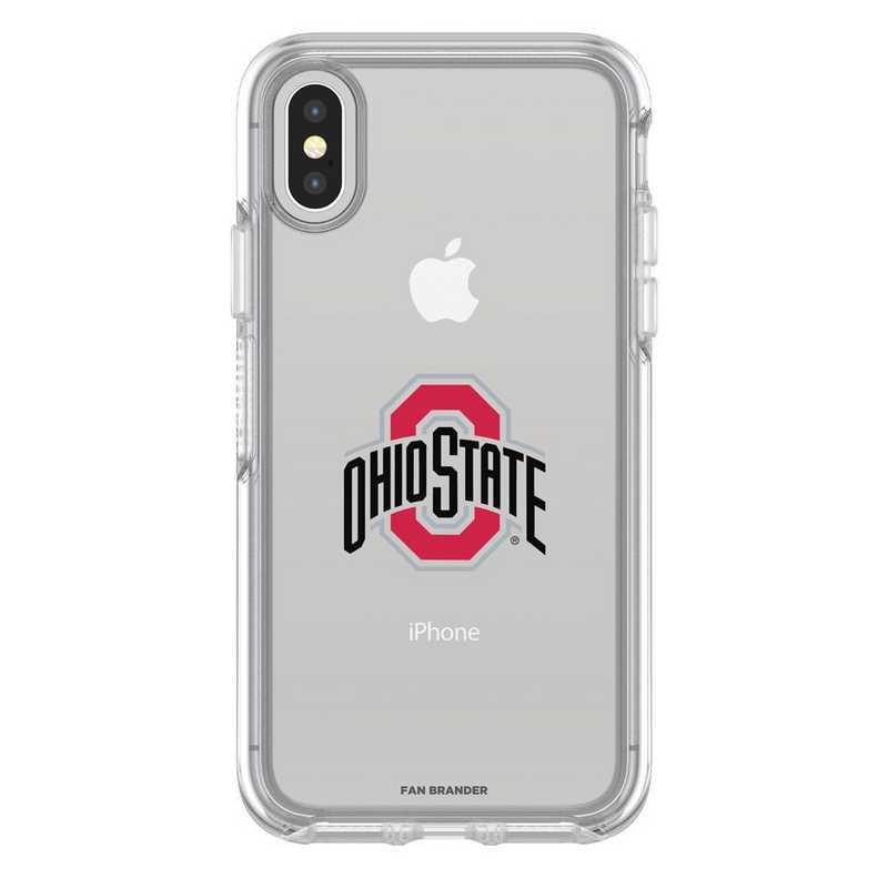 IPH-X-CL-SYM-OHS-D101: FB OB iPhone X and XS Ohio State