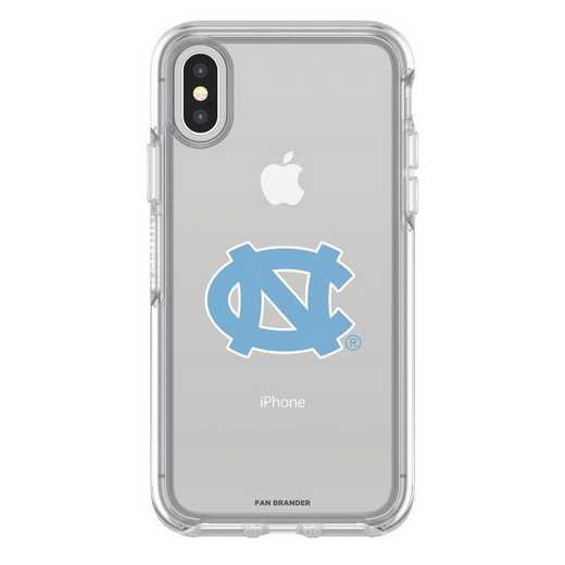 IPH-X-CL-SYM-UNC-D101: FB OB iPhone X and XS North Carolina