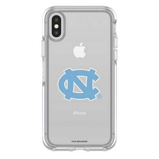 IPH-X-CL-SYM-UNC-D101: FB OB iPhone X and XS North Carolina