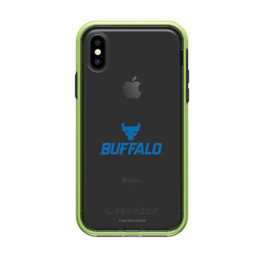 IPH-X-NF-SLA-BUFB-D101: Buffalo Bulls LifeProof iPhone X/Xs SLAM