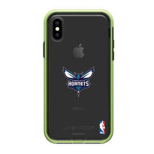 IPH-X-NF-SLA-CHH-D101: BL Lifeproof SLAM Case iPhone X/XS, Charlotte Hornets