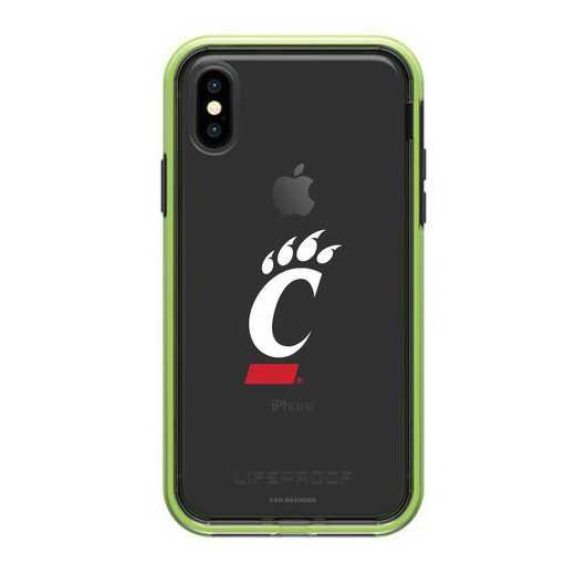 IPH-X-NF-SLA-CIN-D101: Cincinnati Bearcats LifeProof iPhone X/Xs SLAM