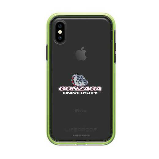 IPH-X-NF-SLA-GON-D101: Gonzaga Bulldogs LifeProof iPhone X/Xs SLAM