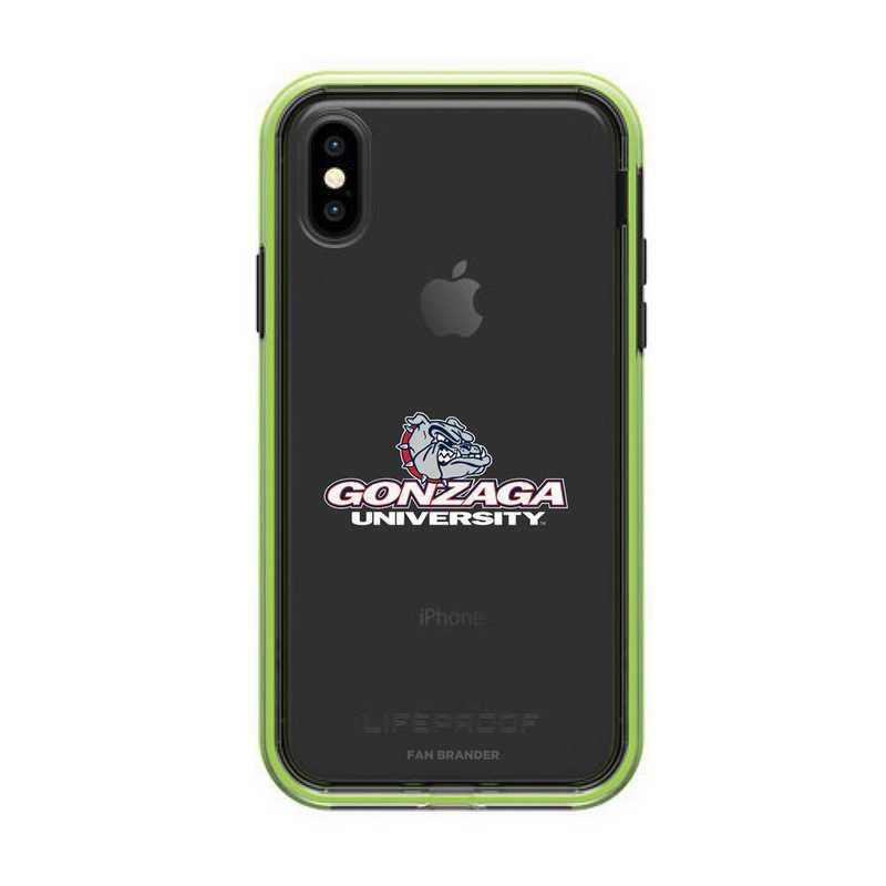 IPH-X-NF-SLA-GON-D101: Gonzaga Bulldogs LifeProof iPhone X/Xs SLAM