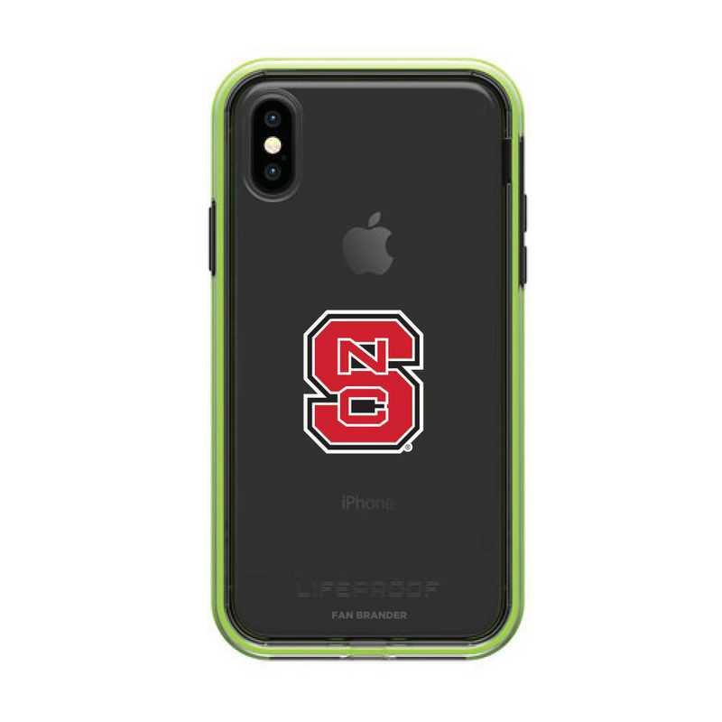 IPH-X-NF-SLA-NCS-D101: NC State Wolfpack LifeProof iPhone X/Xs SLAM