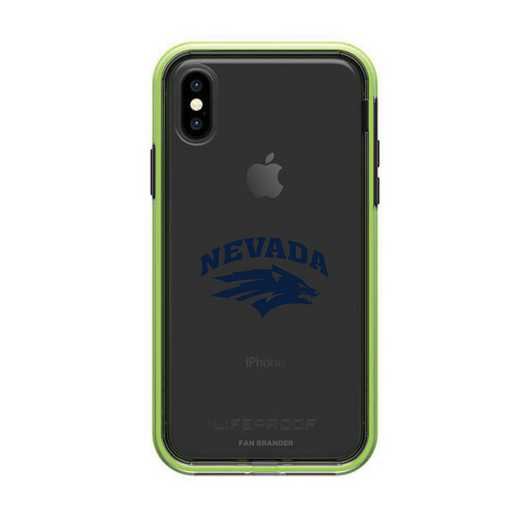 IPH-X-NF-SLA-UNR-D101: Nevada Wolf Pack LifeProof iPhone X/Xs SLAM