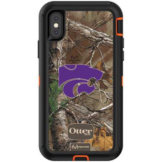 IPH-X-RT-DEF-KST-D101: FB OB iPhone X and XS Kansas State