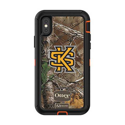 IPH-X-RT-DEF-KSUA-D101: FB OB iPhone X and XS Kennesaw State