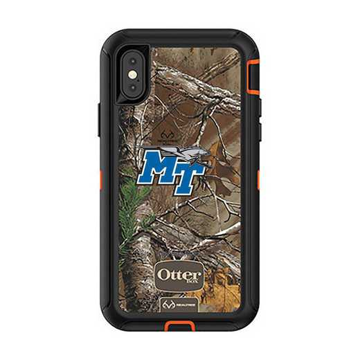 IPH-X-RT-DEF-MTN-D101: FB OB iPhone X and XS Middle Tennessee State