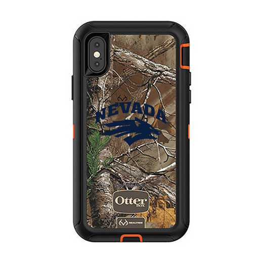 IPH-X-RT-DEF-UNR-D101: FB OB iPhone X and XS Nevada Wolf Pack