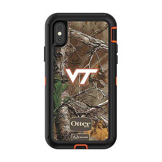IPH-X-RT-DEF-VAT-D101: FB OB iPhone X and XS Virginia Tech