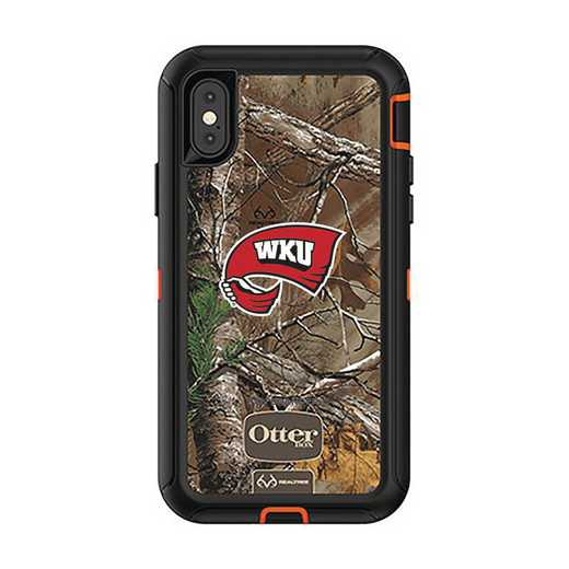 IPH-X-RT-DEF-WKU-D101: FB OB iPhone X and XS Western Kentucky