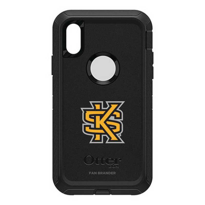 IPH-XR-BK-DEF-KSUA-D101: FB OB IPHONE XR BLK Kennesaw State