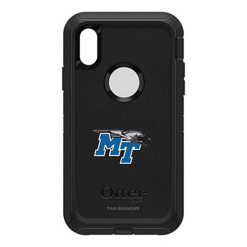 IPH-XR-BK-DEF-MTN-D101: FB OB IPHONE XR BLK Middle Tennessee State