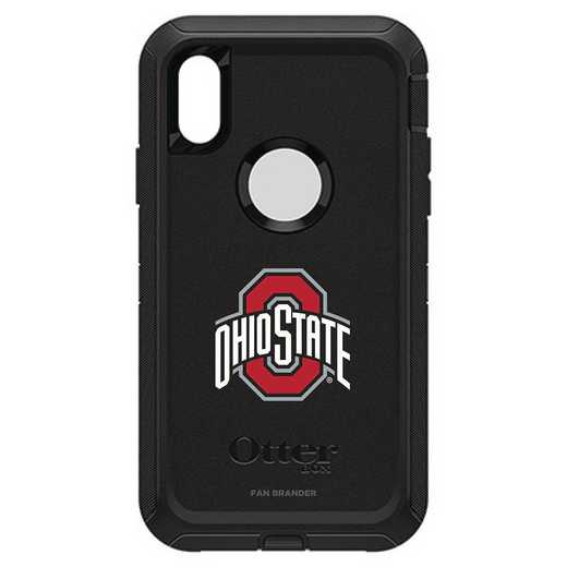 IPH-XR-BK-DEF-OHS-D101: FB OB IPHONE XR BLK Ohio State