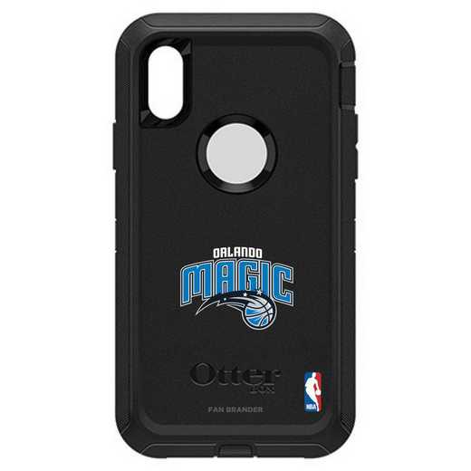 IPH-XR-BK-DEF-ORM-D101: BL Orlando Magic Otterbox iPhone XR Defender