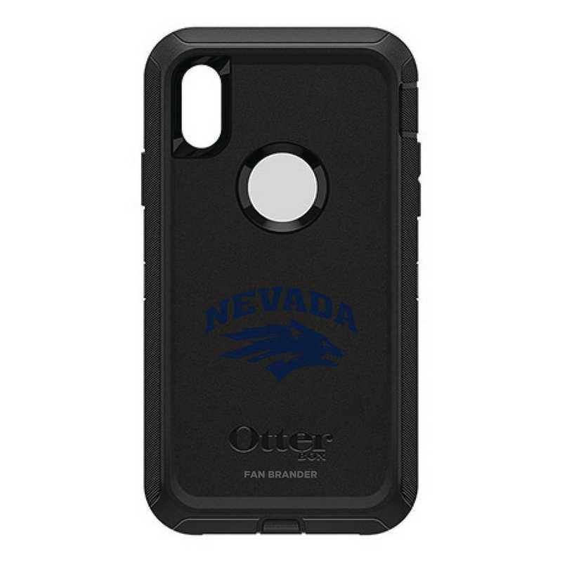 IPH-XR-BK-DEF-UNR-D101: FB OB IPHONE XR BLK Nevada Wolf Pack