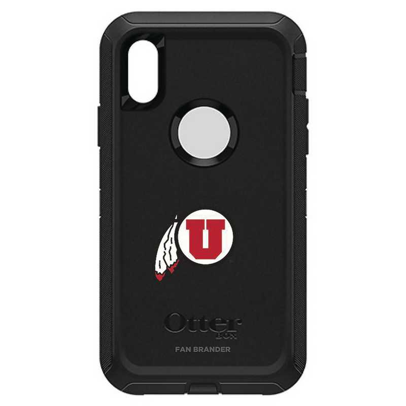 IPH-XR-BK-DEF-UT-D101: FB OB IPHONE XR BLK Utah