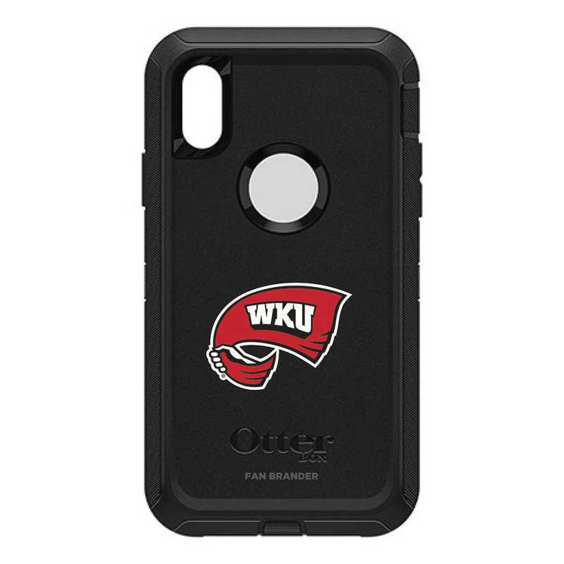 IPH-XR-BK-DEF-WKU-D101: FB OB IPHONE XR BLK Western Kentucky