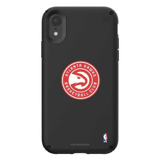 IPH-XR-BK-PRE-ATL-D101: BL Speck Presido iPhone XR, Atlanta Hawks