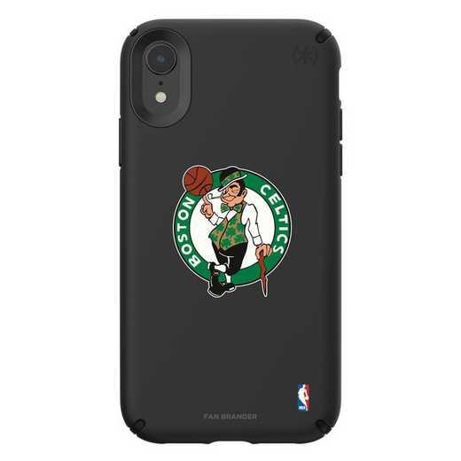 IPH-XR-BK-PRE-BOS-D101: BL Speck Presido iPhone XR, Boston Celtics