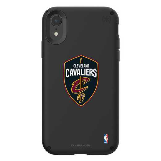 IPH-XR-BK-PRE-CLC-D101: BL Speck Presido iPhone XR, Cleveland Cavaliers
