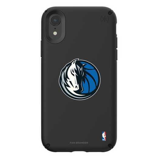 IPH-XR-BK-PRE-DAM-D101: BL Speck Presido iPhone XR, Dallas Mavericks