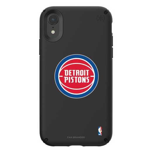 IPH-XR-BK-PRE-DEP-D101: BL Speck Presido iPhone XR, Detroit Pistons