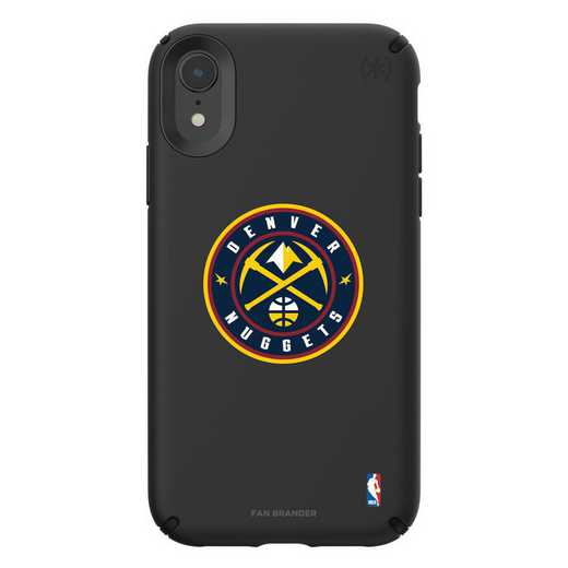 IPH-XR-BK-PRE-DNT-D101: BL Speck Presido iPhone XR, Denver Nuggets