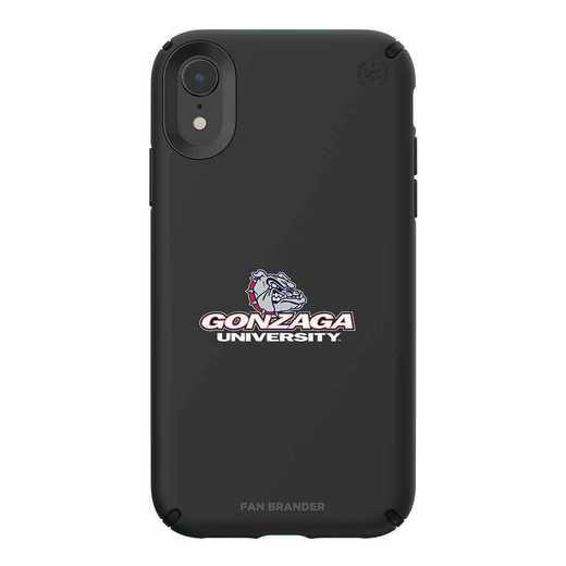 IPH-XR-BK-PRE-GON-D101: Gonzaga Bulldogs Speck iPhone XR Presidio Pro