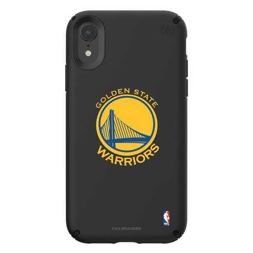 IPH-XR-BK-PRE-GST-D101: BL Speck Presido iPhone XR, Golden State Warriors
