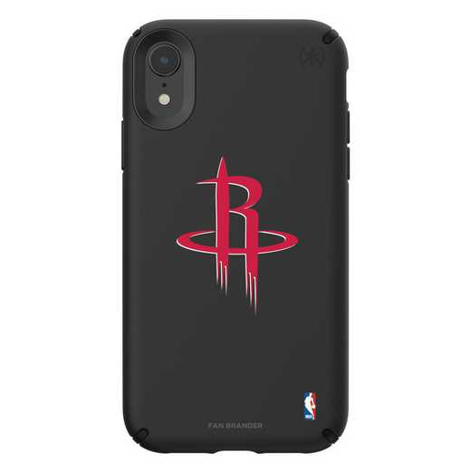 IPH-XR-BK-PRE-HOR-D101: BL Speck Presido iPhone XR, Houston Rockets