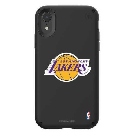 IPH-XR-BK-PRE-LAL-D101: BL Speck Presido iPhone XR, LA Lakers