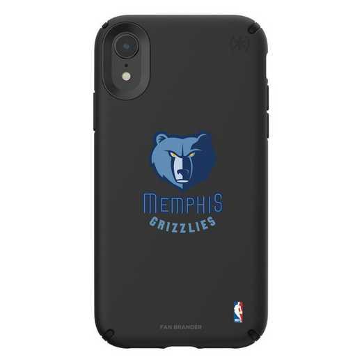 IPH-XR-BK-PRE-MG-D101: BL Speck Presido iPhone XR, Memphis Grizzlies