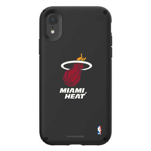 IPH-XR-BK-PRE-MHT-D101: BL Speck Presido iPhone XR, Miami Heat