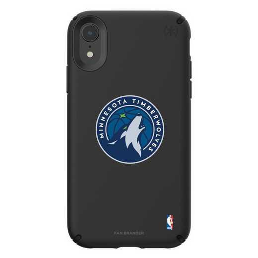 IPH-XR-BK-PRE-MNT-D101: BL Speck Presido iPhone XR, Minnesota Timberwolves