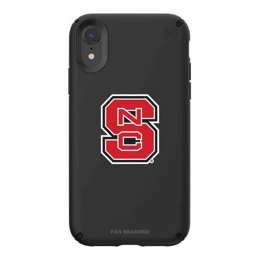 IPH-XR-BK-PRE-NCS-D101: NC State Wolfpack Speck iPhone XR Presidio Pro