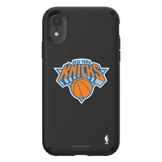 IPH-XR-BK-PRE-NYK-D101: BL Speck Presido iPhone XR, New York Knicks