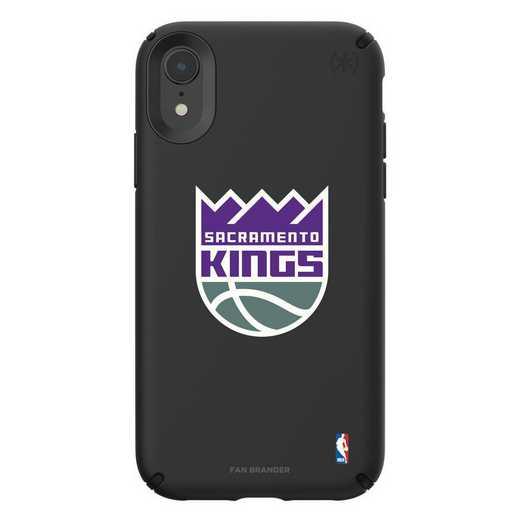 IPH-XR-BK-PRE-SAC-D101: BL Speck Presido iPhone XR, Sacramento Kings