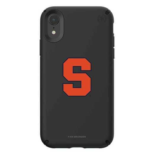 IPH-XR-BK-PRE-SYU-D101: Syracuse Orange Speck iPhone XR Presidio Pro