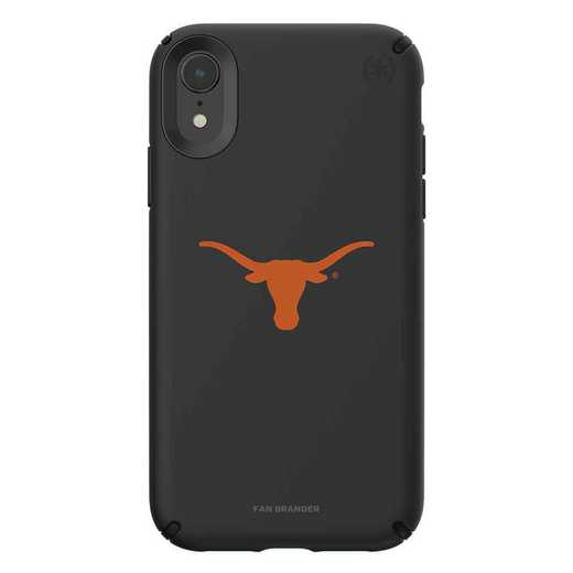 IPH-XR-BK-PRE-TEX-D101: Texas Longhorns  Speck iPhone XR Presidio Pro