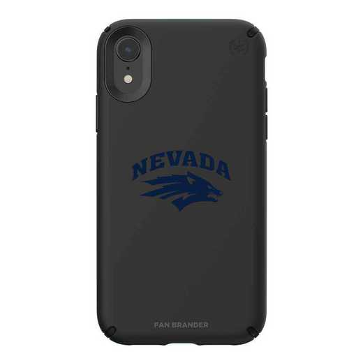 IPH-XR-BK-PRE-UNR-D101: Nevada Wolf Pack Speck iPhone XR Presidio Pro