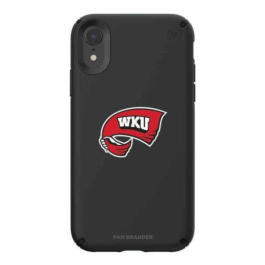 IPH-XR-BK-PRE-WKU-D101: Western Kentucky Hilltoppers Speck iPhone XR Presidio Pro
