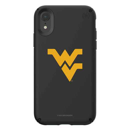 IPH-XR-BK-PRE-WV-D101: West Virginia Mountaineers Speck iPhone XR Presidio Pro