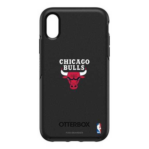 IPH-XR-BK-SYM-CHBL-D101: BL Chicago Bulls Otterbox iPhone XR Symmetry