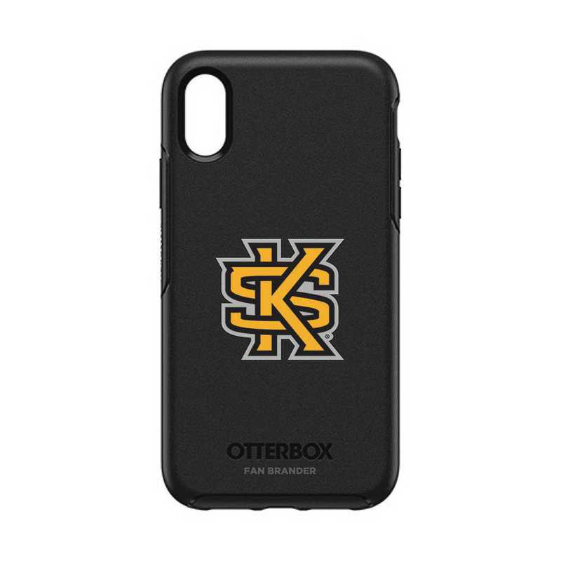 IPH-XR-BK-SYM-KSUA-D101: FB OB IPHONE XR BLK Kennesaw State